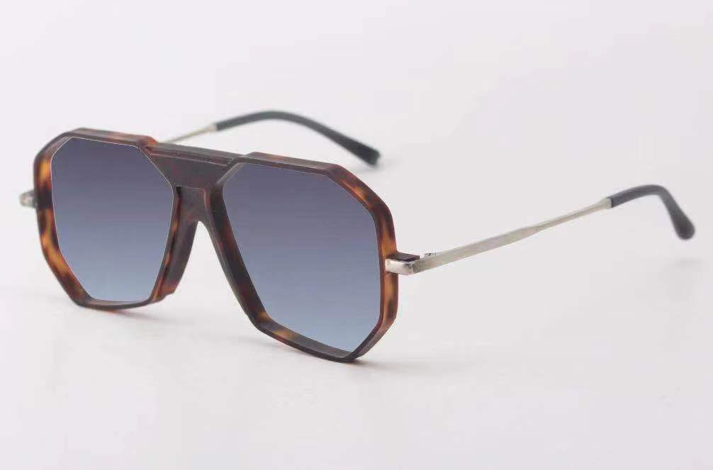 Fashion Geometric Aviator Sunglasses - Iris Fashion Inc. | Wholesale Sunglasses and Glasses