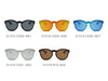 S1018 - Unisex Mirror Round Sunglasses - Iris Fashion Inc. | Wholesale Sunglasses and Glasses