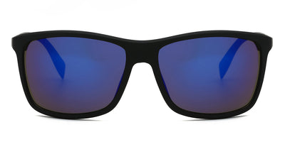 S1025 - Retro Square Men Sports Sunglasses - Iris Fashion Inc. | Wholesale Sunglasses and Glasses
