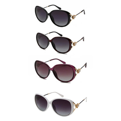 8752 - Women Round Oversize Sunglasses - Iris Fashion Inc. | Wholesale Sunglasses and Glasses