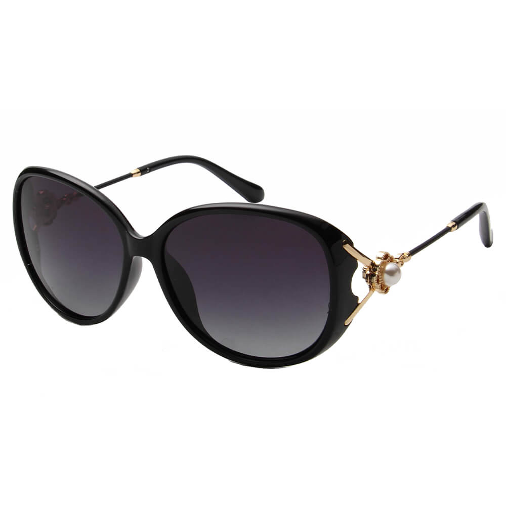 8752 - Women Round Oversize Sunglasses - Wholesale Sunglasses and glasses