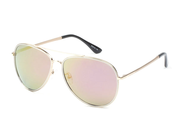 PCB08 Vintage Metal Frame Polarized Lens Aviator Sunglasses - Wholesale Sunglasses and glasses