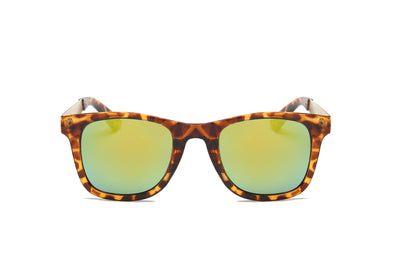 S1003 - Boxy Horn Rimmed Squared Sunglasses - Iris Fashion Inc. | Wholesale Sunglasses and Glasses