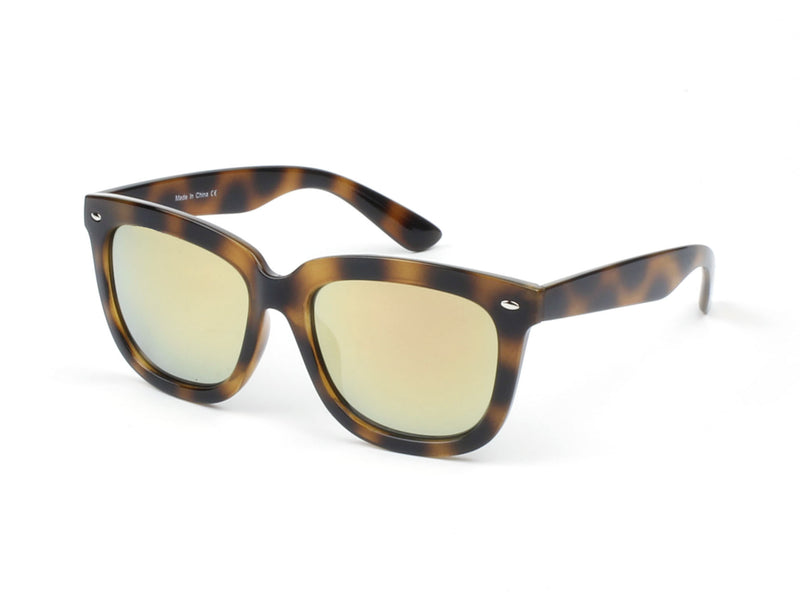 deeef9af04 E08 Hipster Thick Frame Square Mirrored Lens Sunglasses - Wholesale  Sunglasses and glasses here we show
