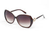 D46 Premium Chic Butterfly Sunglasses w/ Gold Detail - Wholesale Sunglasses and glasses here we show