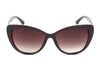 E35 Deluxe Oversize Cat Eye Sunglasses w/ Textured Arms - Wholesale Sunglasses and glasses here we show