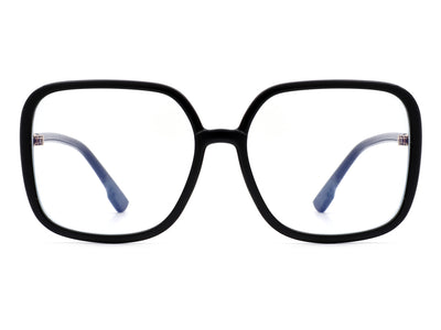 HBT3001 - Square Large Oversize Fashion Blue Light Blocker Glasses