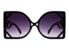 HS1006 - Women Square Oversize Fashion Sunglasses