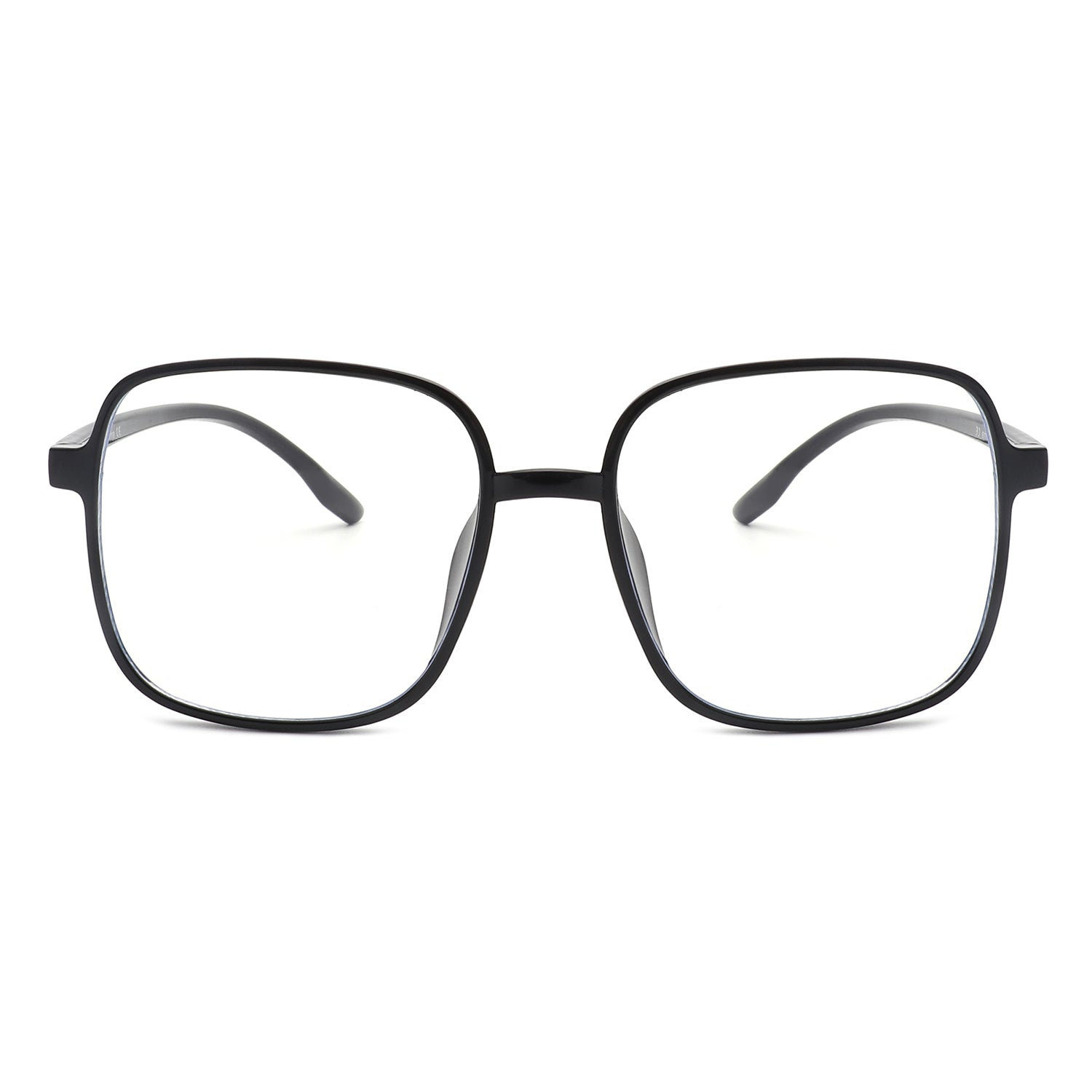 B1013 - Square Oversize Blue Light Blocker Glasses