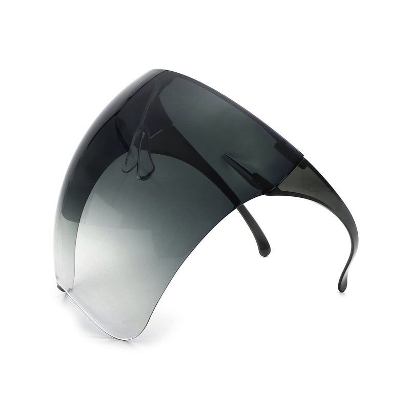 HW1001 - Protective Face Shield Full Cover Anti-Fog Futuristic Visor Goggle Sunglasses