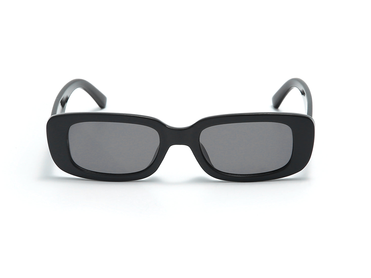 S1158 - Retro Vintage Slim Rectangle Fashion Sunglasses
