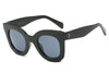 S1065 Women Round Cat Eye Oversize Sunglasses - Wholesale Sunglasses and glasses here we show