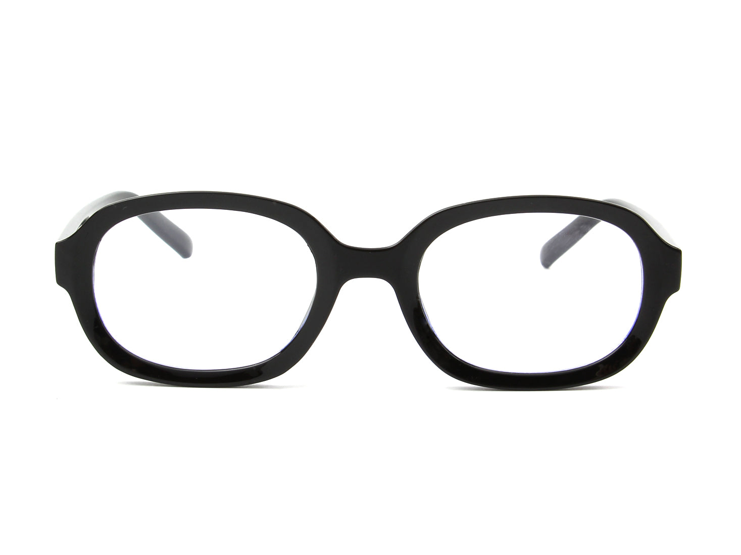 B1001 - Round Oval Blue Light Blocker Glasses - Iris Fashion Inc.