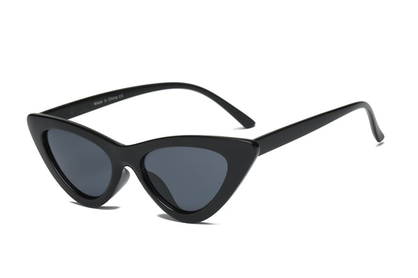 S1040 Women Small Retro Vintage Cat Eye Sunglasses - Wholesale Sunglasses and glasses