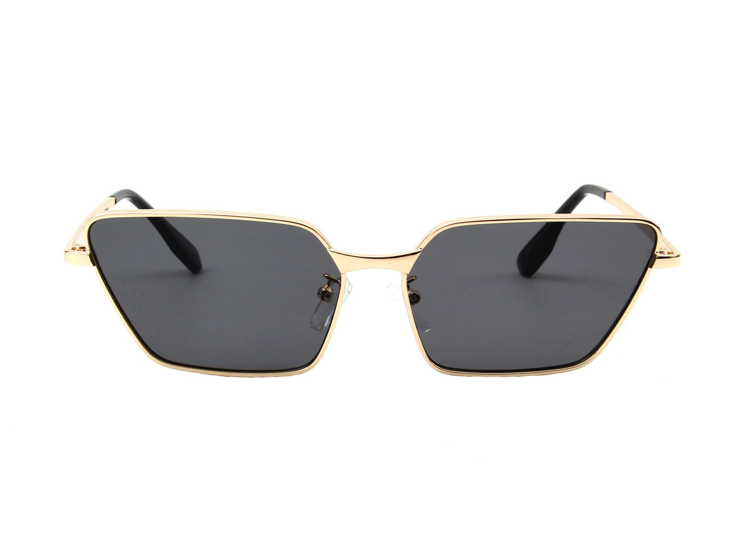 J2004 - Women Rectangle High Pointed Cat Eye Fashion Sunglasses