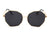 J2002 - Women Round Oversize Geometric Fashion Sunglasses - Iris Fashion Inc.