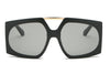 S2056 - Women Square Oversize Sunglasses - Iris Fashion Inc. | Wholesale Sunglasses and Glasses