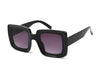 S1141 - Women Retro Bold Square Fashion Sunglasses - Iris Fashion Inc. | Wholesale Sunglasses and Glasses