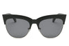 S2062 - Women Half Frame Round Cat Eye Sunglasses - Iris Fashion Inc. | Wholesale Sunglasses and Glasses