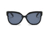 S2055 Women Oversized Round Cat Eye Sunglasses - Wholesale Sunglasses and glasses here we show