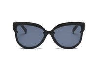 S2055 Women Oversized Round Cat Eye Sunglasses - Wholesale Sunglasses and glasses