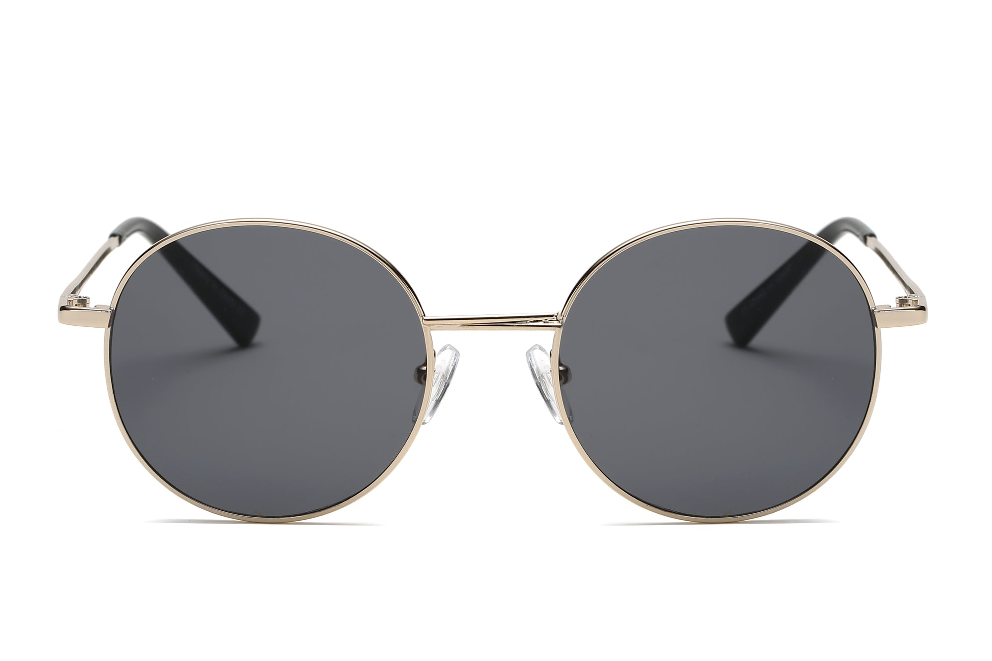 S2066 - Retro Vintage Metal Round Sunglasses - Wholesale Sunglasses and glasses