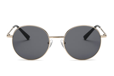 S2066 - Retro Vintage Metal Round Sunglasses - Iris Fashion Inc. | Wholesale Sunglasses and Glasses
