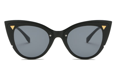S1098 - Women Retro Fashion Round Cat Eye Sunglasses - Iris Fashion Inc. | Wholesale Sunglasses and Glasses