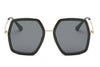 S2059 Women Square Oversize Sunglasses - Wholesale Sunglasses and glasses here we show
