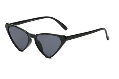 S1110 - Women High Pointed Retro Cat Eye Sunglasses - Wholesale Sunglasses and glasses