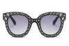 S1087 - Women Fashion Oversize Round Sunglasses - Iris Fashion Inc. | Wholesale Sunglasses and Glasses