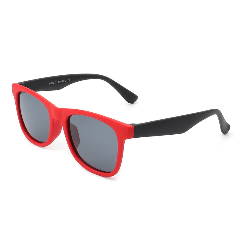 HKP1002 - Children Classic Rectangle Kids Polarized Sunglasses