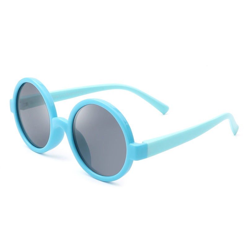 HKP1001 - Children Circle Round Kids Polarized Sunglasses