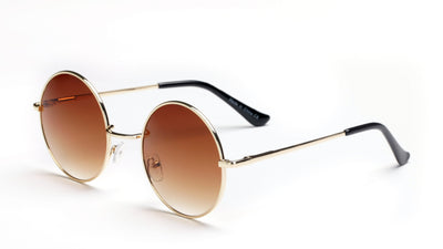 F1003-N Round Metal Fashion Sunglasses - Iris Fashion Inc. | Wholesale Sunglasses and Glasses