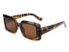 S1164 - Square Retro Vintage Designer Fashion Sunglasses