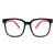 HK1013 - Kids Square Oversize Children Blue Light Blocking Glasses