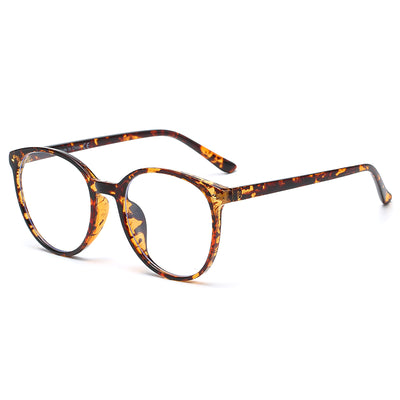 B1010 - Circle Round Fashion Blue Light Blocker Eyeglasses