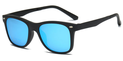 P8003 - Men Polarized Square Clip-on Sunglasses - Iris Fashion Inc. | Wholesale Sunglasses and Glasses