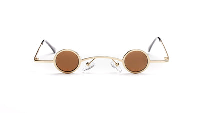 S2088 - Retro Vintage Slim Round Fashion Sunglasses - Iris Fashion Inc. | Wholesale Sunglasses and Glasses