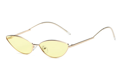 S3012 - Small True Retro Vintage Slim Metal Sunglasses - Iris Fashion Inc. | Wholesale Sunglasses and Glasses
