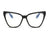 S2091 - Blue Light Blocker Women Cat Eye Glasses