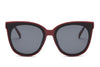 S1075 - Women Round Cat Eye Sunglasses - Wholesale Sunglasses and glasses