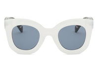 S1065 Women Round Cat Eye Oversize Sunglasses - Wholesale Sunglasses and glasses