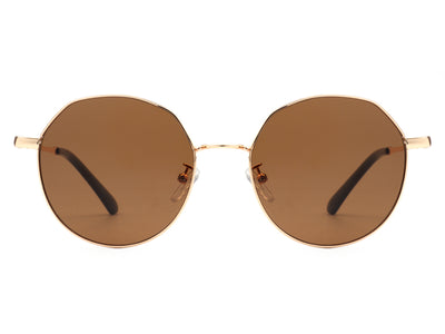 HJ2002 - Retro Circle Round Metal Fashion Sunglasses