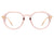 HBJ2012 - Round Geometric Fashion Blue Light Blocker Glasses