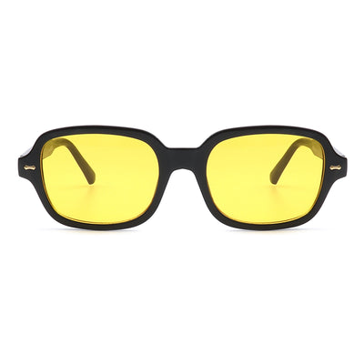 HS1036 - Retro Vintage Square Fashion Sunglasses