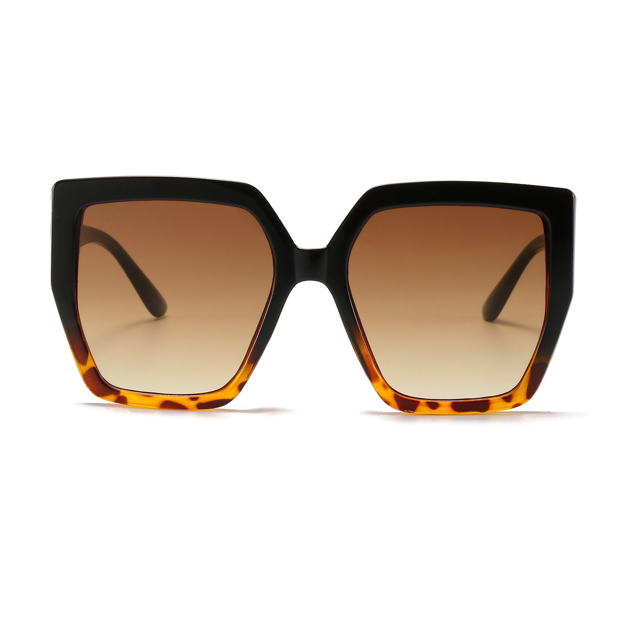 S1161 - Women Large Oversize Square Fashion Sunglasses