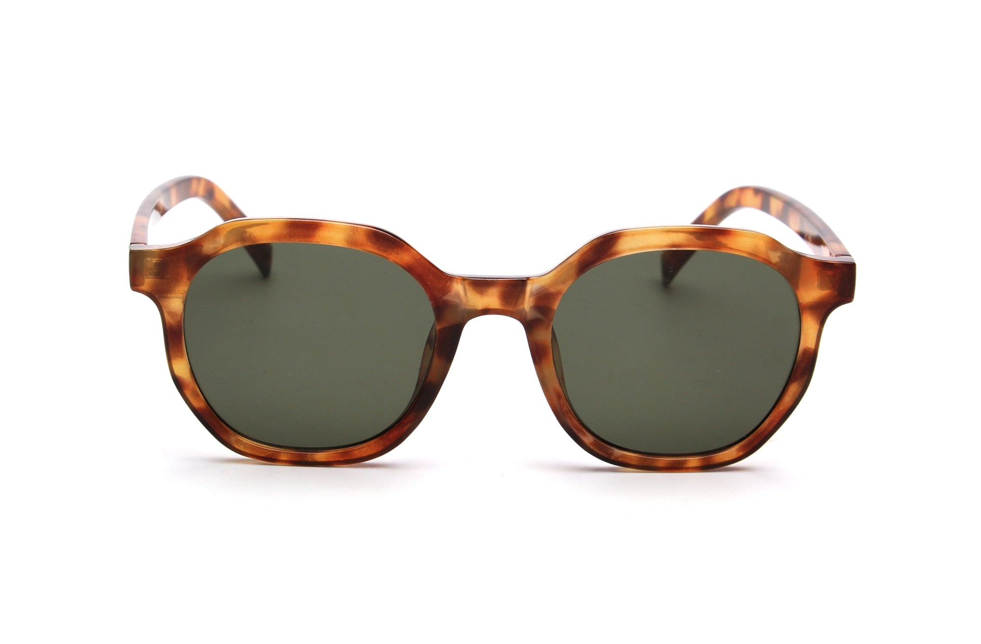 S1139 - Classic Retro Vintage Round Unisex Fashion Sunglasses - Iris Fashion Inc.