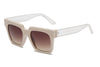 S1068 - Women Retro Square Oversize Sunglasses - Iris Fashion Inc. | Wholesale Sunglasses and Glasses