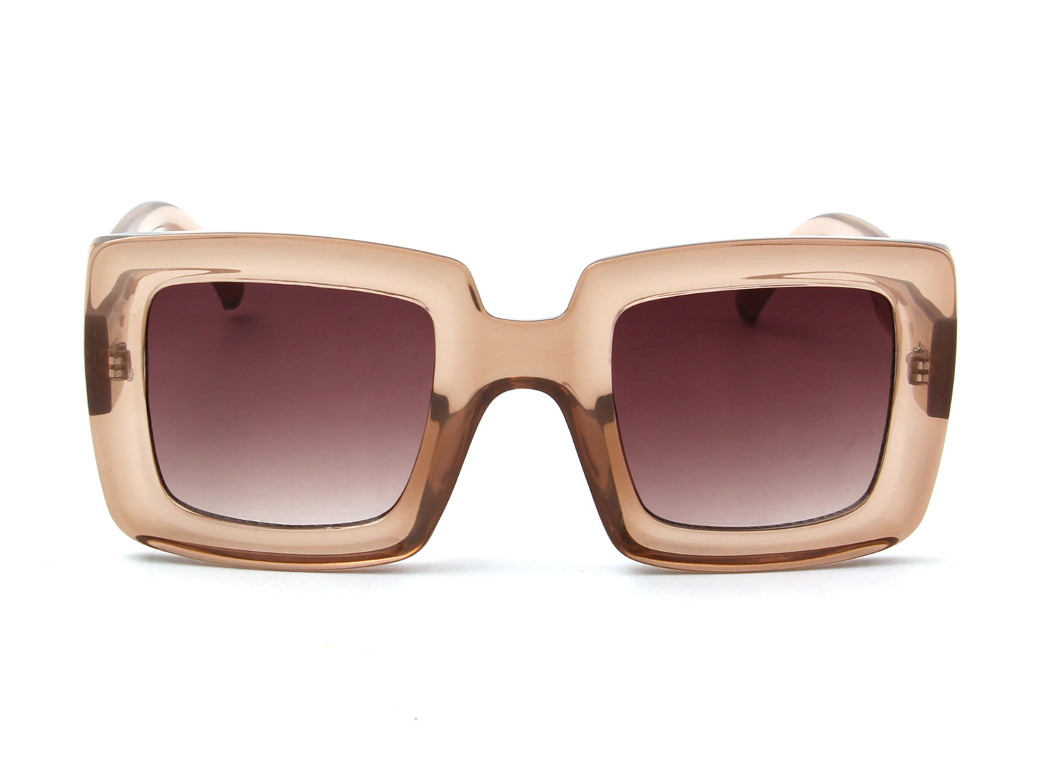S1141 - Women Retro Bold Square Fashion Sunglasses